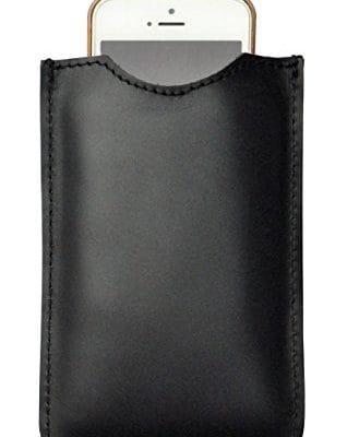 Coloured smartphone case Black