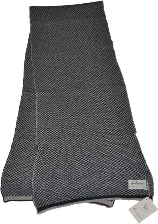 Sciarpa misto cashmere bicolor Col. Verde